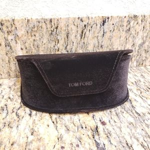 Tom Ford Black Velvet Glasses Case